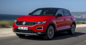 VW T-Roc  has a touch of interesting exterior style with which to recommend itself