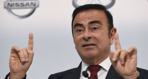 Arrested Nissan chairman Carlos Ghosn denies deliberately understating pay and misusing company funds. Photograph: Toshifumi Kitamura / AFP / Getty Images