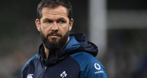 "Ireland defence coach Andy Farrell: ""I couldn't watch the Irish defensive effort [against New Zealand] without lamenting the loss England suffered when Andy Farrell was allowed to slip through the net.""  Photograph: Reuters"