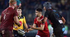 Munster's Conor Murray came off the bench to help them to a Pro14 victory over Zebre. Photo: Matteo Ciambelli /Inpho