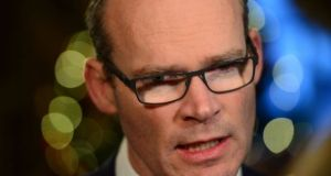 Despite support for the Bill, Minister for Foreign Affairs Simon Coveney continues to oppose it. Photograph: Dara Mac Dónaill/ The Irish Times