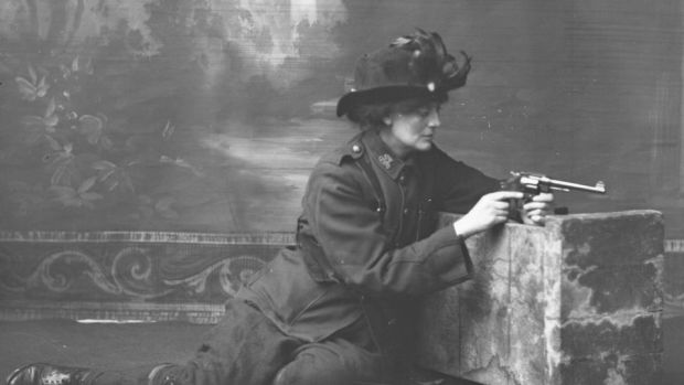 Countess Constance Markievicz. Photograph courtesy of the National Library