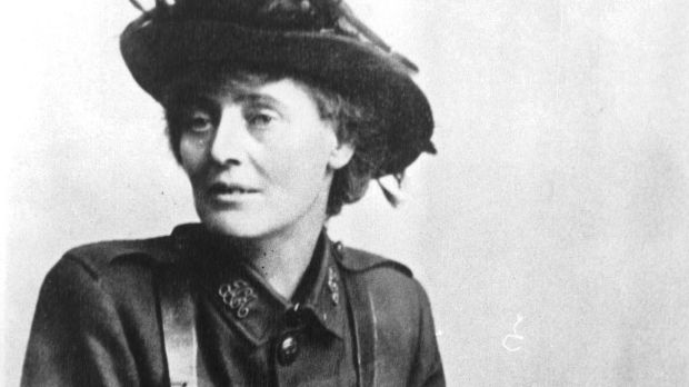 Constance Markievicz as a captain in the Irish Citizen Army.
