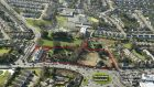 The 3.75-acre site for apartment development on Church Road, Killiney, Co Dublin