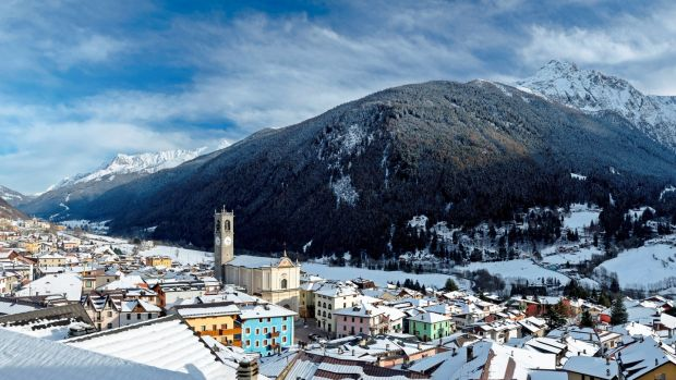 Ponte di Legno is lovely – a typical Italian town in a valley, with mountains on all sides. Photograph: Nardi Alberto/AGF/UIG via Getty Images