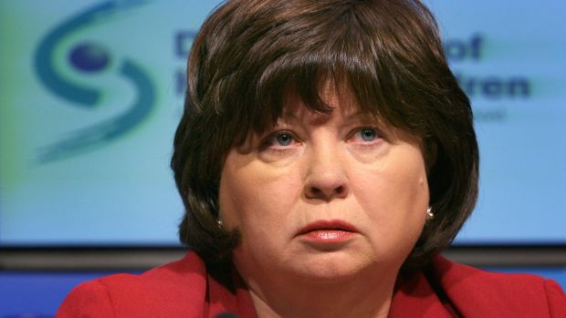 Ireland's first female tánaiste, Mary Harney is also Ireland's first female political party leader, elected in 1993 to the helm of the Progressive Democrats. Photograph Brenda Fitzsimons