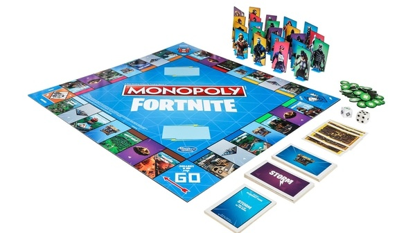 Monopoly's Fortnite edition (€26)