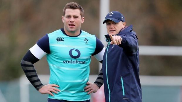 Joe Schmidt helped provide CJ Stander with a platform to become an internationally renowned player. Photograph: Dan Sheridan/Inpho