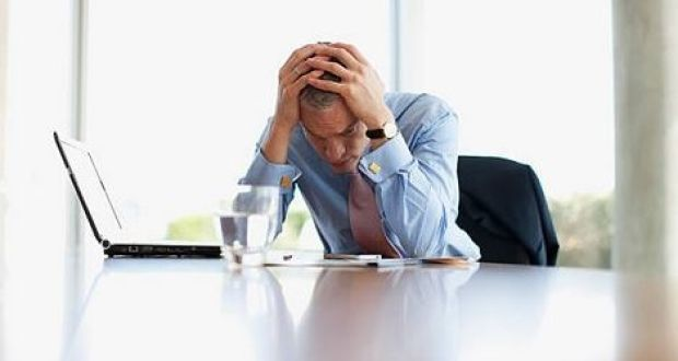 The number of Irish workers who described themselves as stressed at work more than doubled in just five years from 2010 to 2015. Photograph: Getty Images