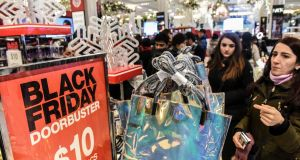 Black Friday sales   at Macy's   in New York:  Post-Thanksgiving US sales are unnecessary here and only cannibalise revenues. Photograph: Stephanie Keith/Reuters