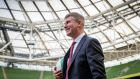 Republic of Ireland's new Under 21 manager Stephen Kenny at the Aviva Stadium on Monday. Photograph: Ryan Byrne/Inpho