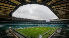 The overspend of around £40m on Twickenham's revamped East Stand has also been identified as a contributing factor to the RFU's harsher economic outlook. Photograph: Ryan Byrne/Inpho