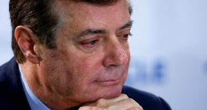 Paul Manafort could spend the rest of his life in prison, experts said. Photograph: Reuters