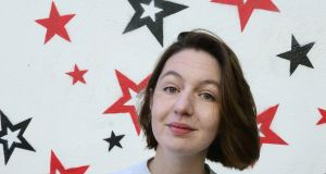 Sally Rooney: winner of Novel of the Year at the An Post  Irish Book Awards. Photograph: Cyril Byrne