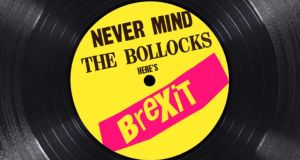 Never Mind the Bollocks, Here's Brexit. Illustration: Angelo McGrath (with apologies to Jamie Reid)