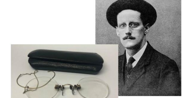 6be0be4a49 See the world through James Joyce s iconic glasses