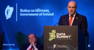 Denis Naughten: 'My sole objective throughout this process, during my time as Minister, was to deliver much promised broadband to rural Ireland'. Photograph: Dara Mac Donaill