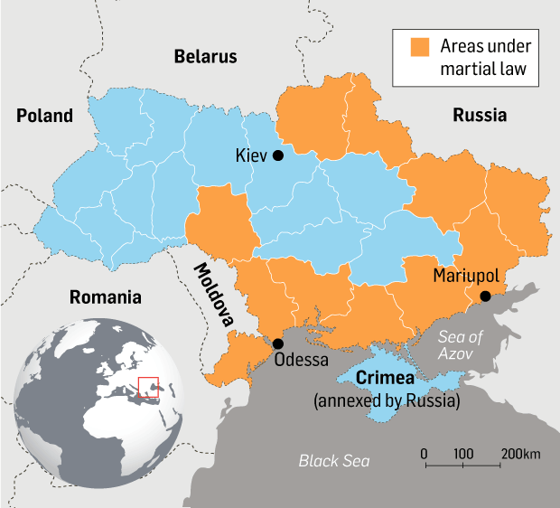Explainer How The Sea Of Azov Became New Flashpoint In Russia