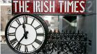 The Irish Times clock.   Campaigners say   clock-change would give us the promise of a little more light at the end of the working day, enough to remind that we are not doomed to live in eternal darkness. Photograph: David Sleator