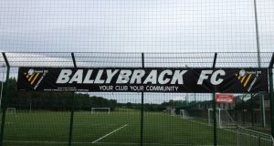 A football player who was reported dead by Dublin club Ballybrack so the team could avoid playing an away game has said the first he knew of his demise was on Tuesday evening, when he received calls from friends and colleagues. Photograph: Ballybrack FC/Facebook