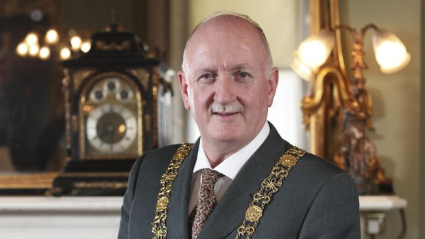 Lord Mayor of Dublin Nial Ring. Photograph: Conor McCabe Photography