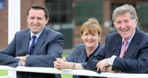 Ross,  Anna and Peter Doyle: Doyle Bloodstock was shielded from the effects of the downturn by regional diversification and clients in France, Scandinavia and the UK.