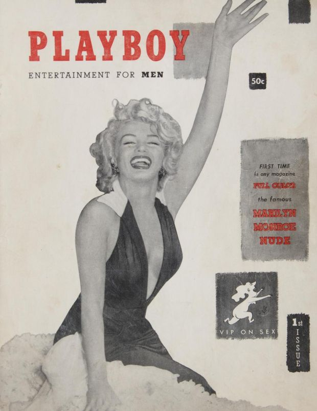 Playboy auction: Hugh Hefner's copy of the first issue, with Marilyn Monroe on the cover, has a guide price of $5,000, or about €4,450