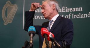 Minister for Communications Richard Bruton: why has the Government chosen to persist with broadband  procurement on which public money will be wasted? Photograph: Sam Boal/RollingNews.ie