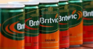Britvic said its portfolio of low and no sugar brands delivered another strong financial performance in Ireland. Photograph: Chris Radburn/PA Wire