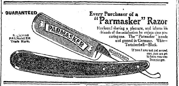 You can get it from your own Ironmonger (November 17th, 1923)