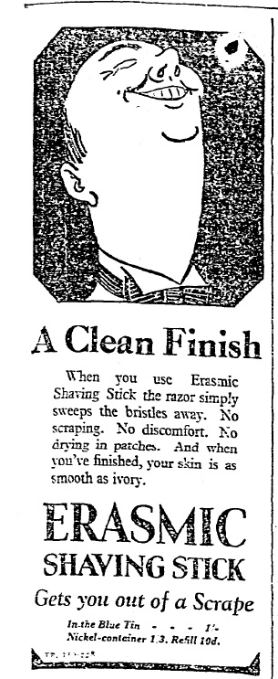 A clean finish (October 24th, 1929)