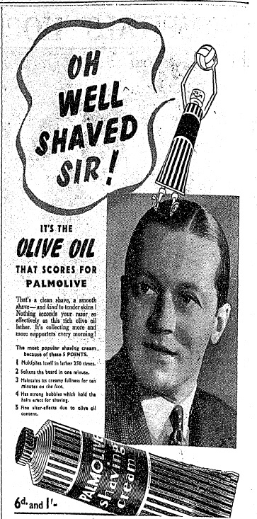 Oh well shaved sir! (March 17th, 1939)