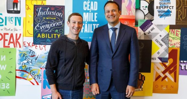 Facebook Ireland staff coin it as average pay reaches €154,000