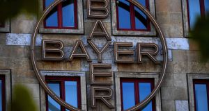 Bayer's shares have suffered on the back of legal setbacks related to its acquisition of Monsanto. Photograph: AFP