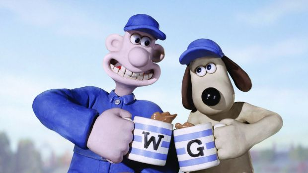 Wallace and Gromit in Aardman Animation's Wallace & Gromit: The Curse of the Were-Rabbit.