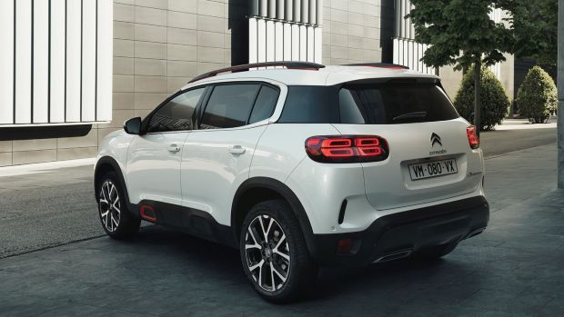 The C5 Aircross is a homage to the work of Citroen's recently departed design chief Alexandre Malval.