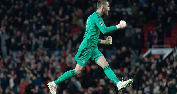 914076da5 Manchester United have triggered a one-year extension on David de Gea s  contract. Photograph
