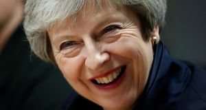 British prime minister Theresa May. File photograph: Russell Cheyne/Getty