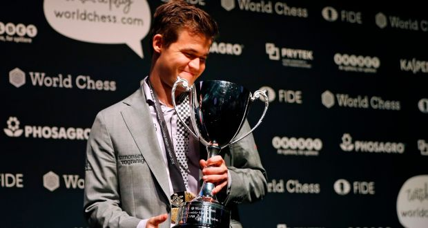 Magnus Carlsen: global star of chess to press on after latest title
