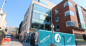 Nuritas HQ on  Dawson Street, Dublin. The new investment is the first time the EIB has invested in an Irish biotech company