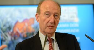 "Minister for Transport Shane Ross: ""Nobody's personally held accountable and it's a very easy thing to write a cheque with other people's money."" Photograph: Dara Mac Donail"