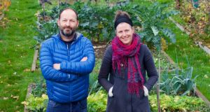 Inner-city allotments: Richard Stearn and Samantha McCaffrey of the Weaver Square Community Garden