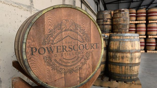 Inside the new Powerscourt Distillery in Enniskerry, Co Wicklow. Photograph: Cyril Byrne