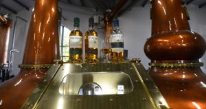 Fercullen whiskey from the new Powerscourt Distillery in Co Wicklow. Photograph: Cyril Byrne