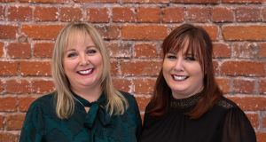 Tracey Leavy, left, and Wendy Slattery. The BeautyBuddy