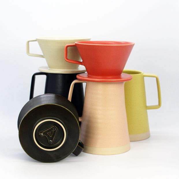 Arran Street East's newest product, a ceramic pour-over coffee filter, €75