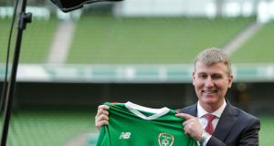 New Republic of Ireland under-21 manager Stephen Kenny has earned his chance at an international job. Photo: Laszlo Geczo/Inpho