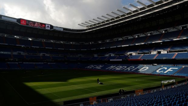 The final will now take place in the Bernabeu in Madrid. Photo: Manu Fernandez/AP Photo