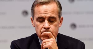 "Bank of England governor Mark Carney: he was described by Conservative MP Jacob Rees-Mogg as ""a failed second-rate Canadian politician who is talking down the pound"". Photograph. EPA/Will Oliver"