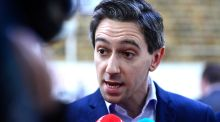 "Minister for Health Simon Harris. ""Harris plays complex language games directed at people of good faith who do not endorse abortions where the baby has a disability."" Photograph: Cyril Byrne"
